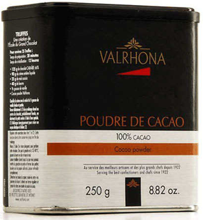 VALRHONA CACAO POUDRE 250g-0