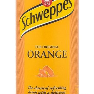 SCHWEPPES ORANGE SODA 33cl TIN -0